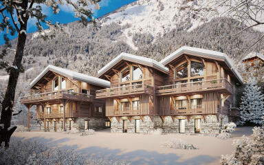 3 APPARTEMENTS - CHALETS DE LA FARE